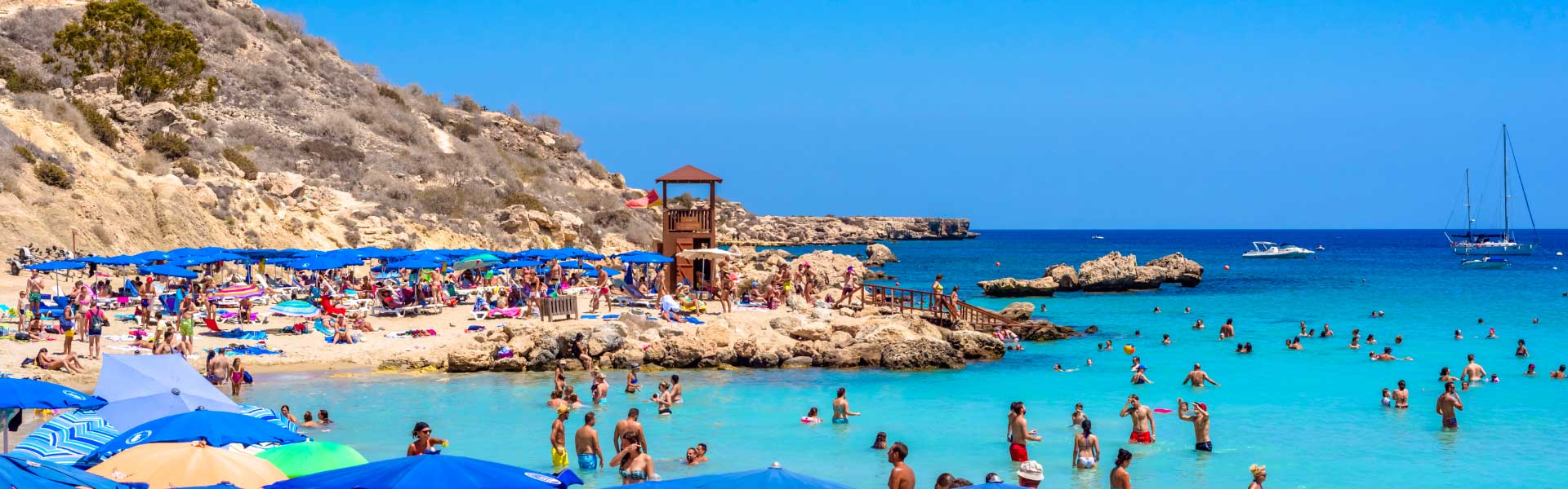 Ayia Napa Beach and nightlife